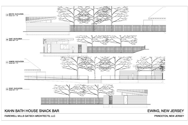 Present Planing: Plans - The Bath House